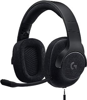 【Amazon.co.jp限定】Logicool G ロジクール G ゲーミングヘッドセット G433BK PS5 PS4 PC Switch Xbox 有線 Dolby 7.1ch 3.5mm usb 軽量 ノイズキャンセリング 単一性 着脱...