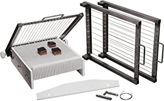 Paderno World Cuisine Trancheuse à bonbons pour guitare avec 3 cadres de coupe, 2,5 cm, 3,8 cm et 3,8 cm d'espacement