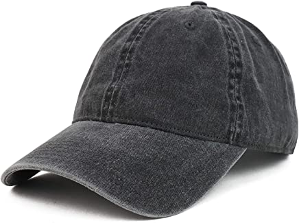 e3bb9bf58 Armycrew XXL Oversize Big Washed Cotton Pigment Dyed Unstructured Baseball  Cap