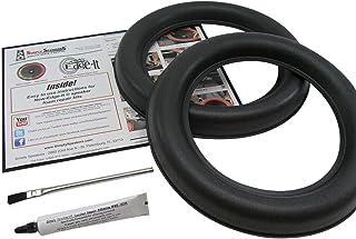 JL Audio 10 Inch W7 Foam Speaker Repair Kit, Super Wide Roll, 10W7, FSK-10JL-W7 (Pair)