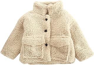 Evelin LEE Baby Kids Winter Warm Coat Fleece Stand Collar Outwear Jacket Snowsuit