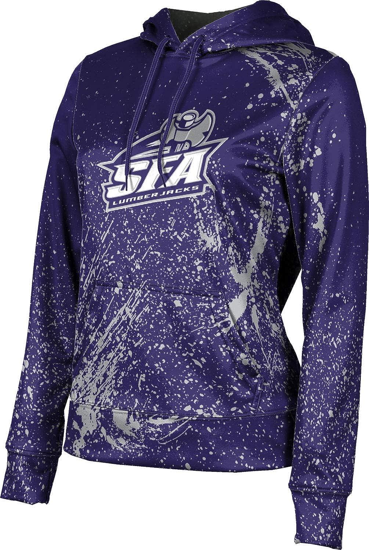 Stephen F. Austin State University Girls' Pullover Hoodie, School Spirit Sweatshirt (Splatter)