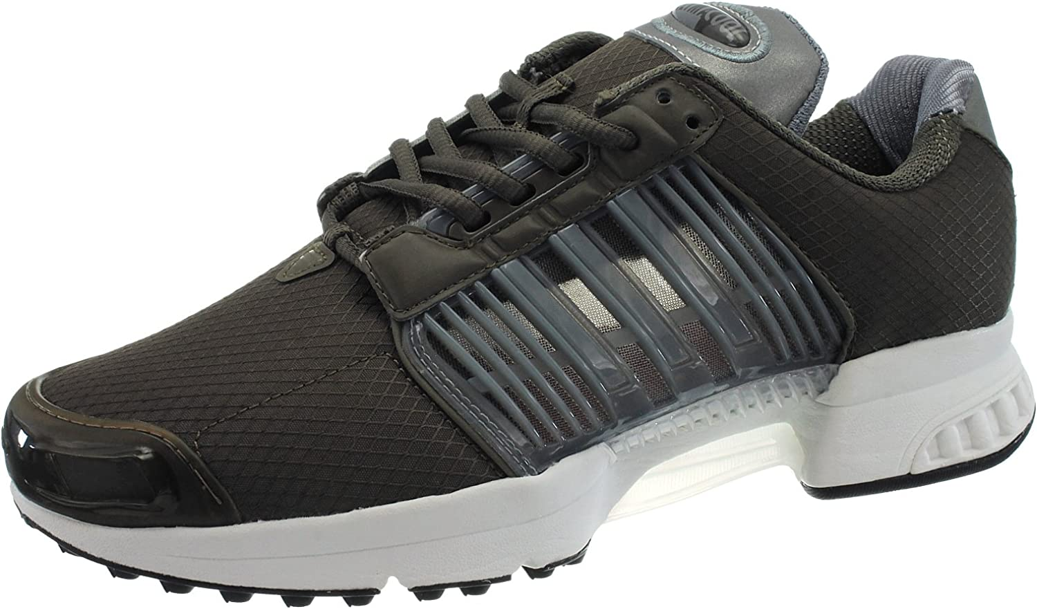 Adidas Men's Lace-Up Flats Brown-Green