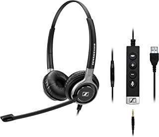 Sennheiser SC 665 USB (507257) - Double-Sided Business Headset | UC Optimized and Skype for Business Certified | for Mobil...