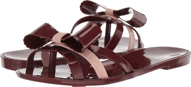 Melissa shoes Womens Fluffy II Purple Pink 5 M
