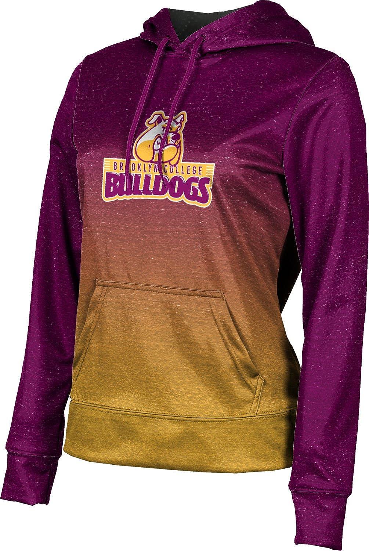 ProSphere Brooklyn College Girls' Pullover Hoodie, School Spirit Sweatshirt (Ombre)