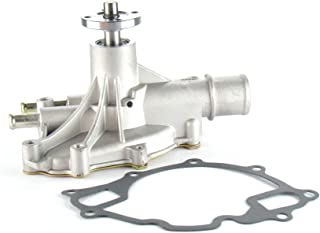 OAW F1670 Engine Water Pump for 87-96 Ford Bronco E150 E250 E350 F150 F250 F350 Small Block 302 351W Standard-Volume 5.0L 5.8L
