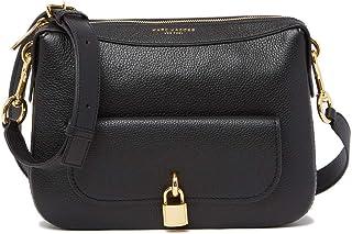 Lock That Leather Messenger Bag (Black)