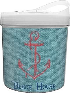 Chic Beach House Plastic Ice Bucket
