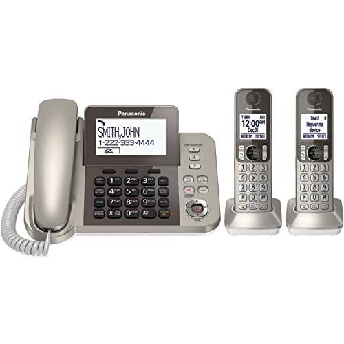 Touch Cordless House Phone Amazoncom