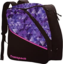 Transpack Edge Junior Ski Boot Bag 2018 - Purple Topo