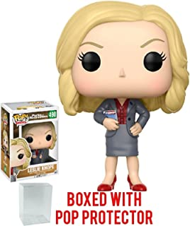 Pop! Television: Parks and Recreation - Leslie Knope Figure and Bundled with Pop BOX PROTECTOR CASE