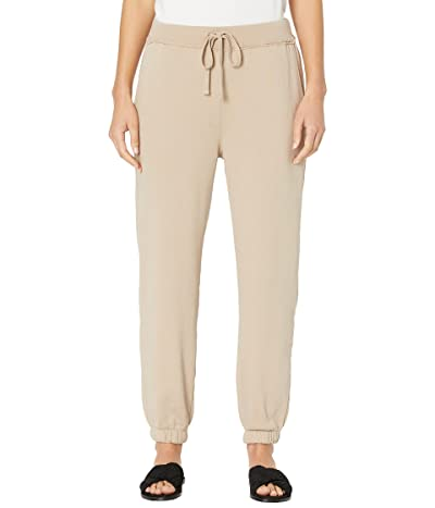 Eileen Fisher Ankle Track Pants in Organic Cotton French Terry