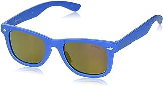 Girl's Pld8006s Polarized Rectangular Sunglasses, SOLID...