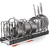 Vdomus Extensible Pot Rack Organizer with 4 DIY Methods