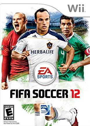 Jogo Fifa Soccer 12 - Nintendo Wii Mídia Física Usado