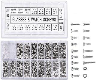 comprar comparacion 1000 piezas Micro tornillos de acero inoxidable Tuercas para reparar bicicleta gafas de Gafas Reloj