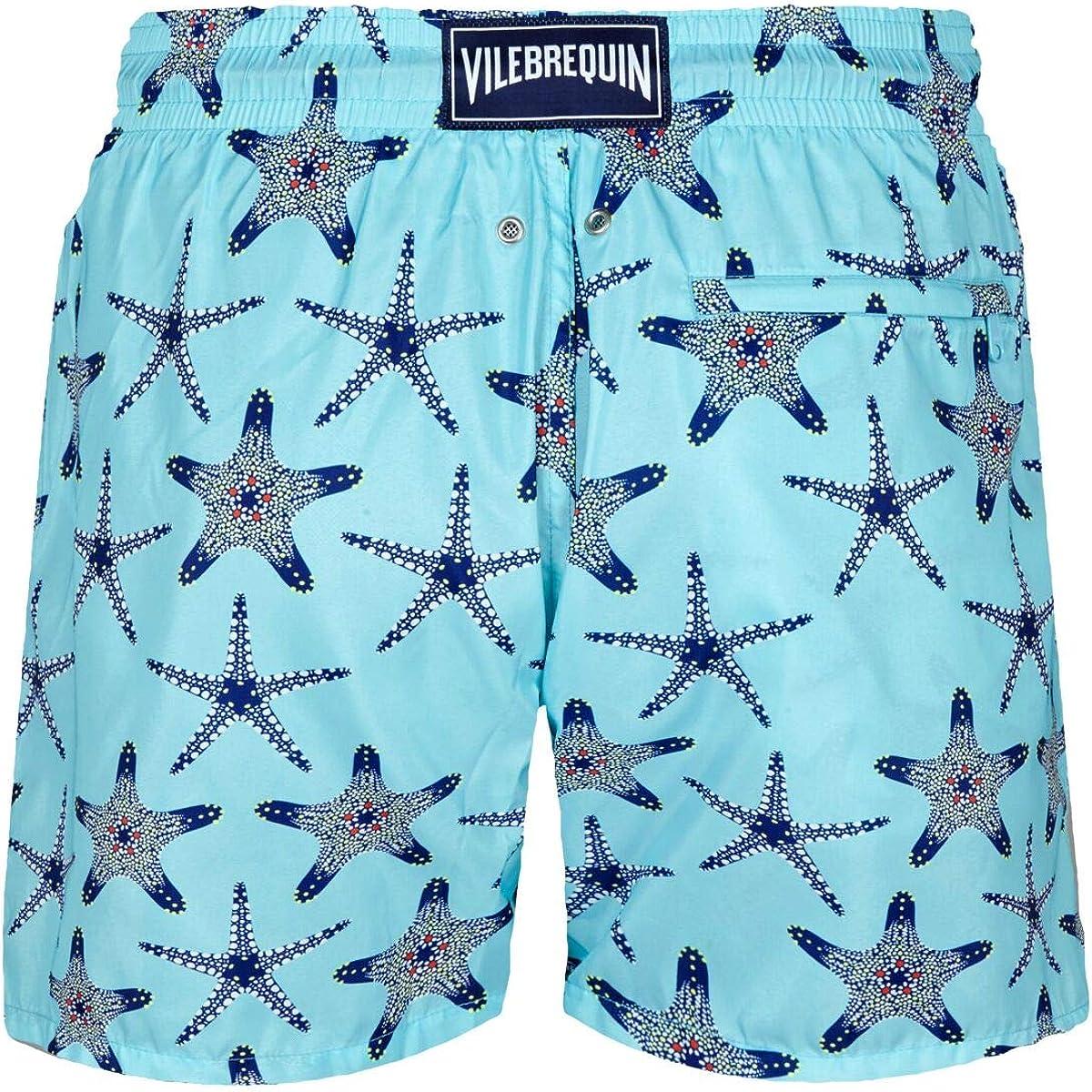 Vilebrequin Men Swimwear Ultra-Light and Packable Starfish Dance