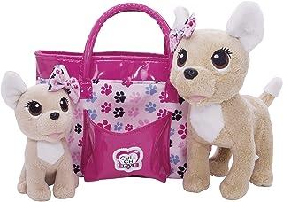 Baby Love perrito con bolso de Chi Chi Love (Simba 5893178