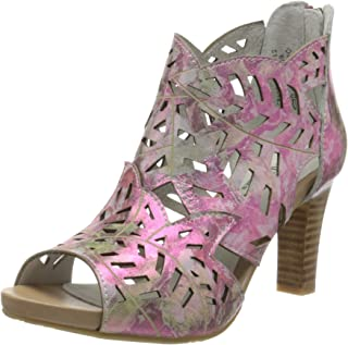 LAURA VITA Alcbaneo 049, Sandales Bout Ouvert Femme