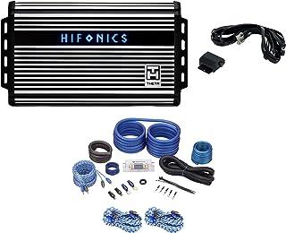 $254 » Hifonics ZTH-1625.5D Zeus 1600 Watt 5 Channel Class D Car Amplifier Bundle with (2) Rockville RTR172 17 Foot 2 Channel Twi...
