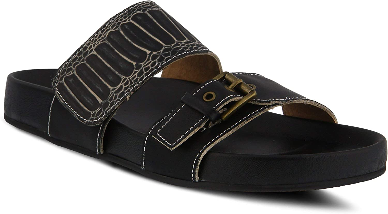 L'ARTISTE Women's Ganilli Leather Slide Sandal