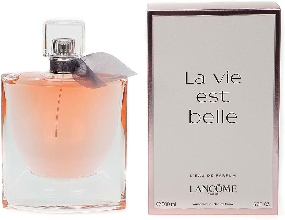 Lancome la vie est belle, l`eau de parfum spray,profumo per donna, 200 ml