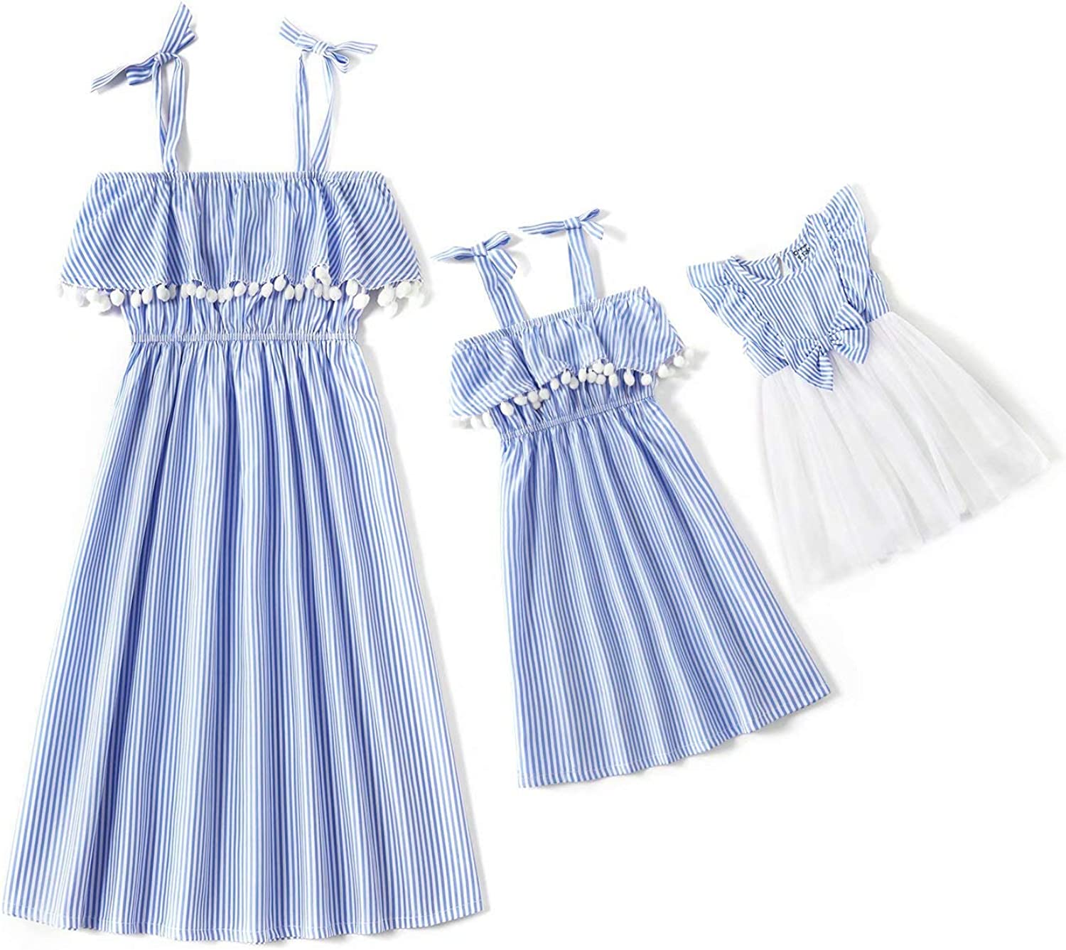 IFFEI Matching Family Outfits with Rainbow 5 popular Silk Suspender Cotton High quality new