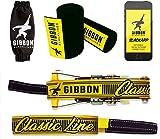 Gibbon Slacklines Classic Line mit Treewear, Gelb, 15 Meter (12,5m Band + 2,5m R