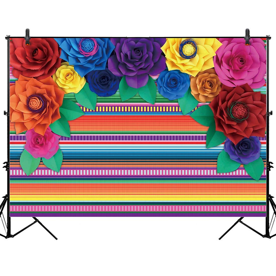 Allenjoy 8x6ft Jungle Backdrop for African Desert Animal Forest Summer Sunset Scenic 1st First Birthday Party Photography Event Table Decoration Banner Background Children Photo Booth Shoot