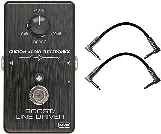Dunlop MXR MC401 CAE BOOST Custom Audio Electronics Pedal w/ 2 Cables
