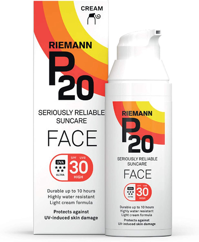 Riemann P20 Face Sun cream SPF20 20 g Long Lasting UVA and UVB ...