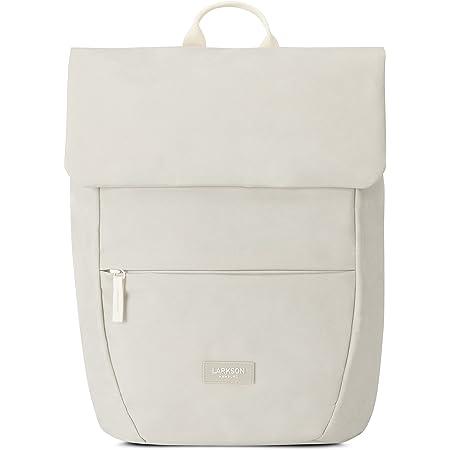 LARKSON Rucksack Damen Klein - RONJA - Moderner & Eleganter Daypack aus Recycelten PET Flaschen für Uni, Freizeit, Arbeit - Wasserabweisend & Laptopfach