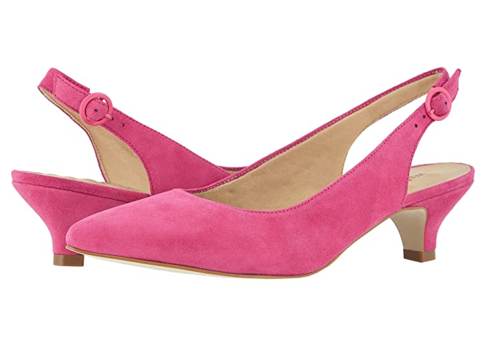 Walking Cradles  Belle (Bright Pink Suede) Womens  Shoes