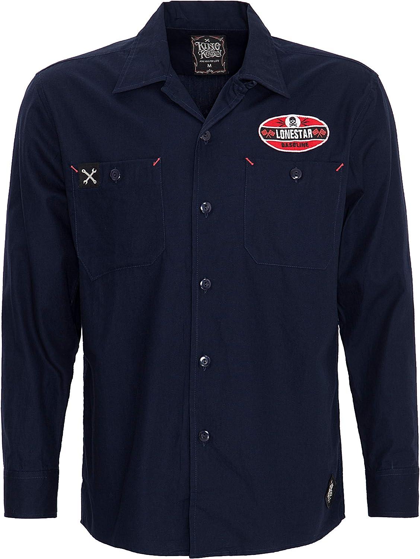 King Kerosin Kustom & Garage Camisa para Hombre