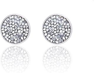 SAPHIRA Premium Sparkly Druzy Studs Designer Earrings