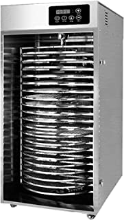 Dehydrate Stand, Stackable Dehydrator Rack, Food Grade 304 Stainless Steel 24 Hour Timer, BPA Free for Fruit/Veg/Meat/Herb...