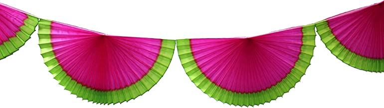 product image for Watermelon Themed 10 Foot Tissue Bunting Garland