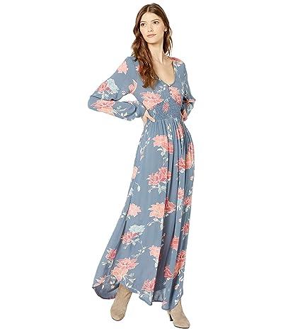 Rip Curl Moon Bay Maxi Dress (Slate Blue) Women