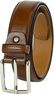 Dockers Men's 1 3/8 in. Feather-Edge Belt With Two-Row Stitching