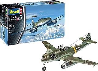Revell GmbH Revell 03875 3875 1:32 Me262 A-1 Jetfighter Plastic Model Kit, Multicolour, 1/32