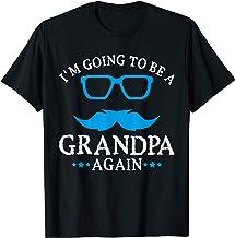 Mens I'm going to be a Grandpa Again T-Shirt Grandpa T Shirt Gift
