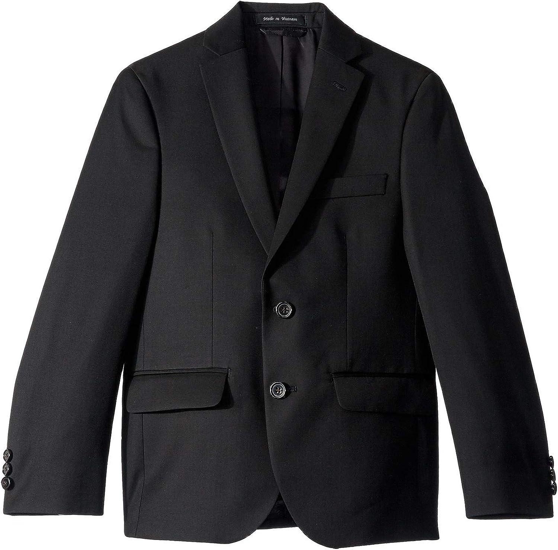LAUREN RALPH LAUREN Boy's Classic Suit Separate Jacket (Big Kids) Black 8 Big Kids