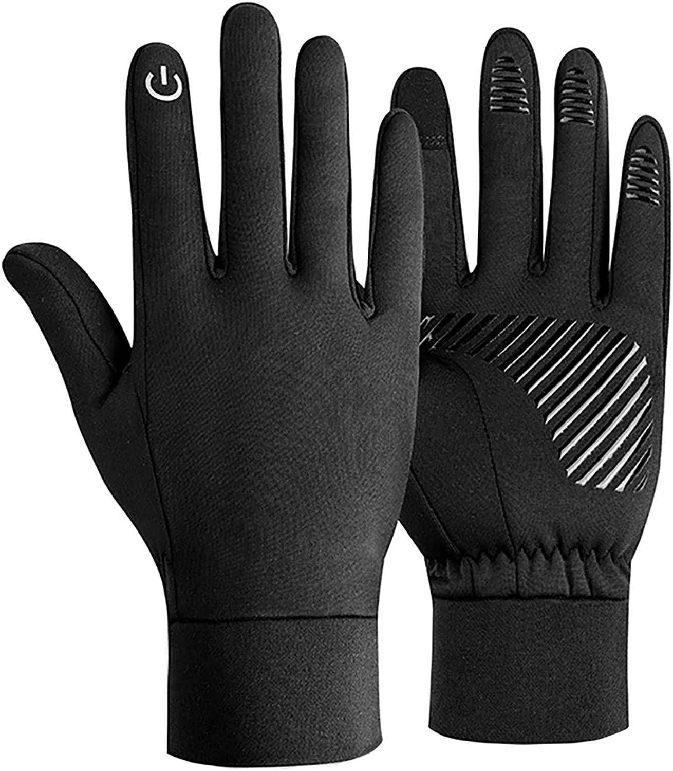 Windproof Touch Screen Gloves for Outdoor Sports in Winter, Windproof and Warm Gloves for Men and Women.