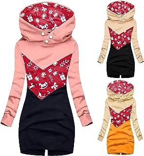 YfiDSJFGJ Oversized Outfits Sweatshirt Fashion Sweatshirt Hood Clip Sweater Dress Oversized Cardigan