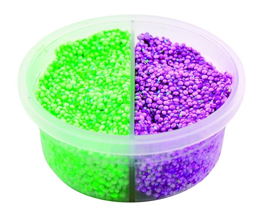 Padaboo pzp11?Clay Pot 8.5?x 8.5?x 4?cm Green/Purple