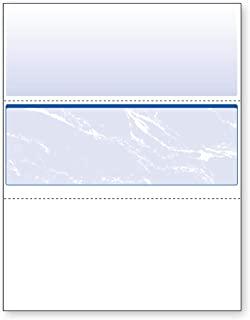 DocuGard Business Checks, Blue Marble Middle, 24 Pound Stock, 8.5 x 11 Inches, 500 Sheets per Ream (04509)