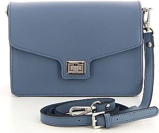 4aa8fd3457 Fuchsia - Petit sac bandoulière à rabat tendance femme en simili cuir  (f9801-3