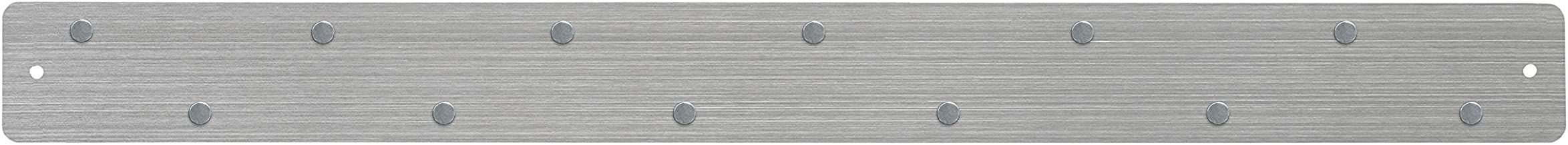 Three By Three Seattle Magnetic Strip Bulletin Board, Stainless (31105)