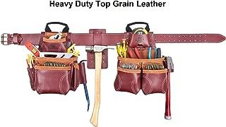 CLC Custom Leathercraft 21453 Signature Elite Heavy Duty Leather Combo System, 18 Pocket